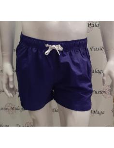 Swimsuit Man Short Aubergine
