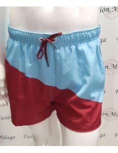 Men's Short Crouch Bicolor...