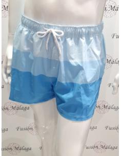 Swimsuit Crouch Man Tricolor