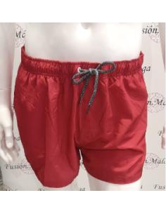 Crouch Men's Swimsuit Burgundy