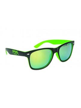 Sunglasses Black Green Cool