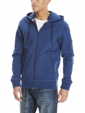 BENCH AOP EMBRO ZIP SWEAT JACKET