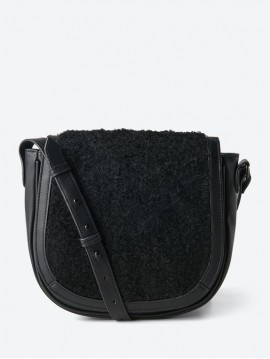 SHOULDER BAG IN LEATHER LOOK