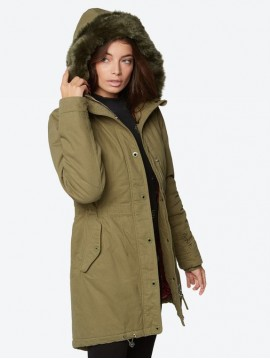 CHAQUETÓN BENCH MUJER NEW PARKA COTTON VERDE