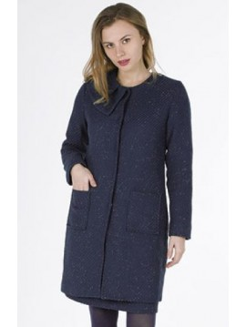 NAVY COAT AKINO LAUDE