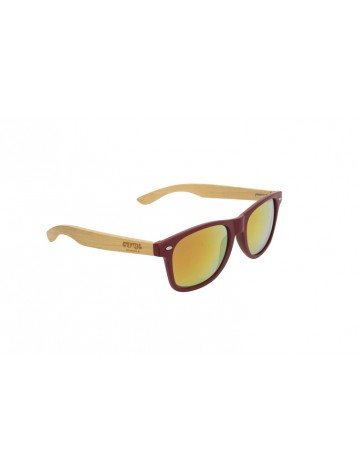 3105eab4293e Sunglasses from cool wood frame model woody crystal red fusión málaga jpg  358x475 Wooden frame sunglasses