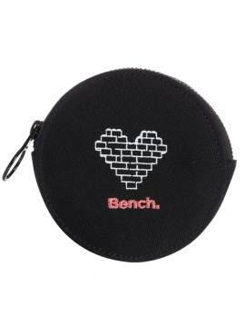 BLACK PURSE FUN ROUND BENCH