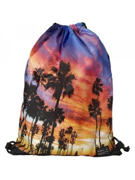 BAG GYMSACK STAMPED ONEILL PALM TREES