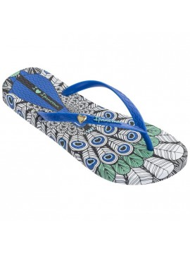 WOMEN FLIP FLOPS IPANEMA SUMMER BLACK BLUE
