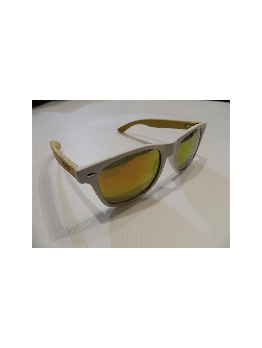 SUNGLASSES FROM COOL FRAME WOOD MODEL WOODY WHITE 2 - FusionMálaga