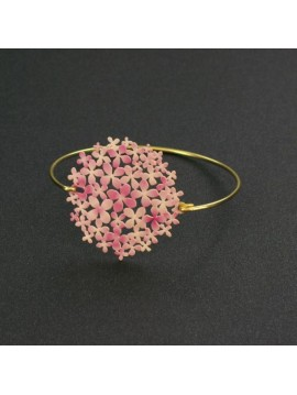 RAS GOLD AND PINK BRACELET BOUQUET