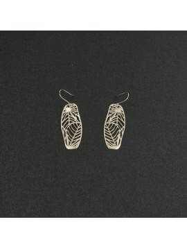 RAS  EARRINGS SILVER SHORT NATURE