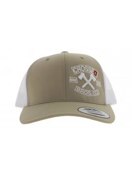 CAP  CROSSED YUPOONG ORIGINAL 2 AXES LOGO
