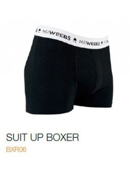BOXER MRWEEBS SUIT UP BLACK
