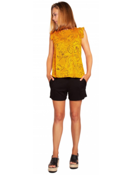 TOP BLOUSE ORANGE COMOUNAREGADERA BOCHORNO