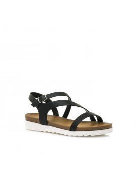 MARIAMARE BLACK SANDAL MODEL BRINA