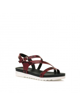 MARIAMARE RED SERNA SANDAL MODEL BRINA