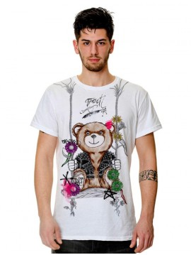 MEN TRACT BEAR TSHIRT