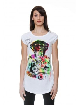 TRACT WOMAN TSHIRT MONKEY BODY