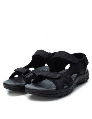 Men's Sandal Xti Blacl leather
